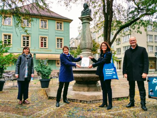BMU-Staatssekretärin in Karlsruhe